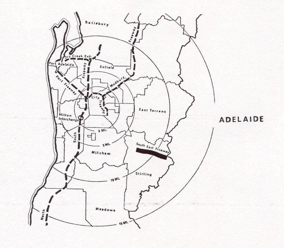 Ozroads: Adelaide Freeway Plans